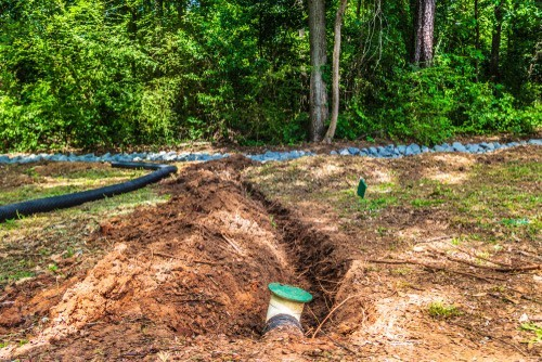 yard surface drainage systems Dallas Fort Worth Texas